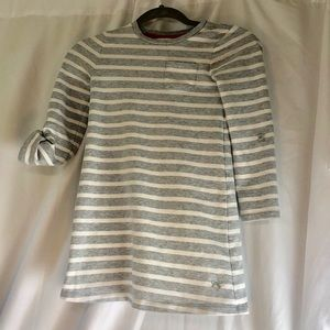 Gymboree Gray Soft Knit Dress 7✏️✏️✏️